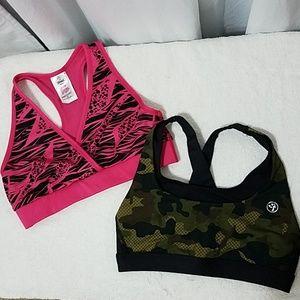 Other - 2 Authentic Zumba Wear Sports bra